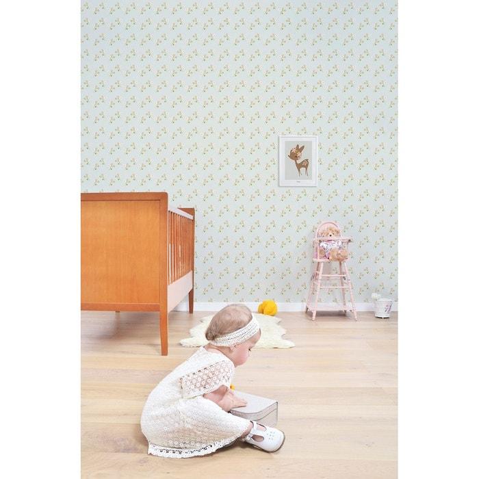 l de papier peint fleurs vintage multi lilipinso la redoute. Black Bedroom Furniture Sets. Home Design Ideas