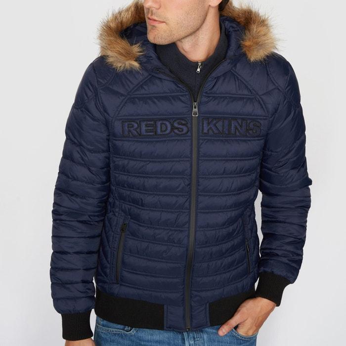 Image Padded Jacket with Faux Fur Hood REDSKINS