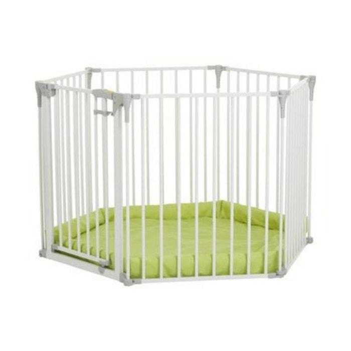 hauck la barri re de s curit baby park 4in1 barri re de s curit blanc hauck la redoute. Black Bedroom Furniture Sets. Home Design Ideas