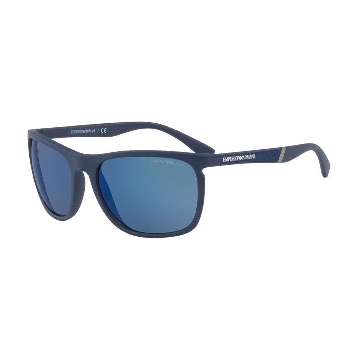 La Sortie Meilleure Gros Lunettes de soleil ea4107 bleu Emporio Armani   La  Redoute En Gros 3058f1ec1a13