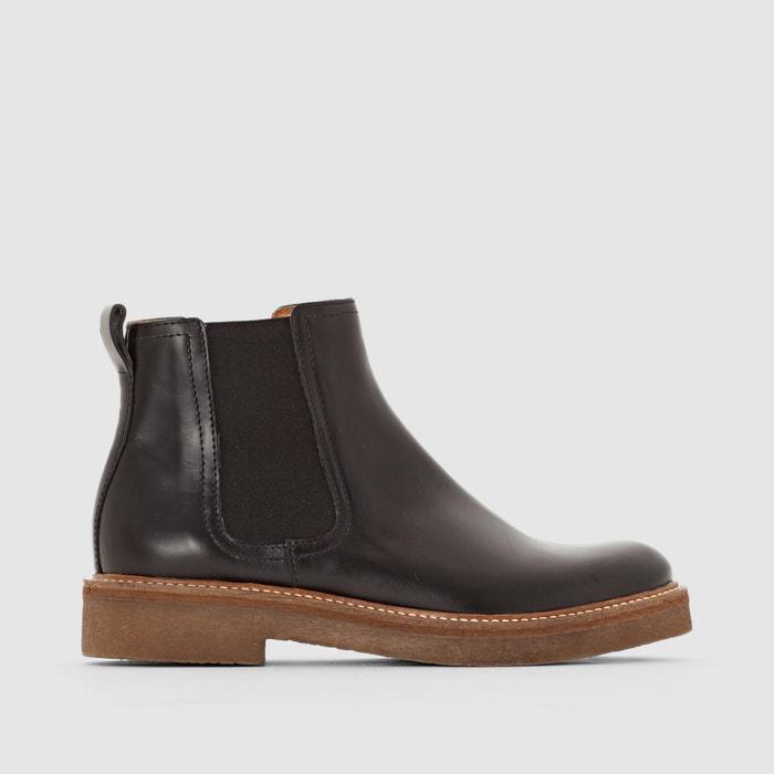 afbeelding Boots in leer Oxfordchic KICKERS