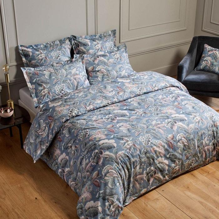 housse de couette coton ava bleu 4 coloris multiples bleu 4 coloris multiples madura la. Black Bedroom Furniture Sets. Home Design Ideas