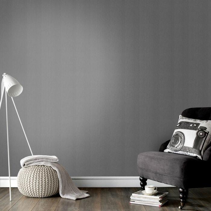 Superfresco easy papier peint intissé lin foncé gris 10 m x 52 cm ...