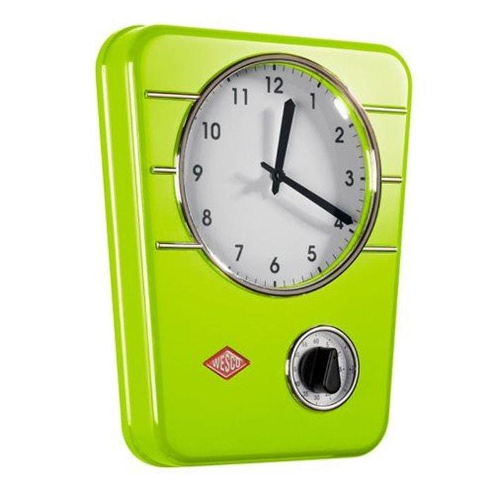 Wesco Classic Line Horloge De Cuisine Vert Wesco La Redoute