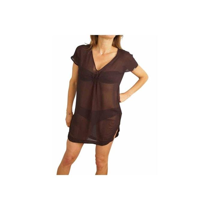Tunique guess beachwear kaftan noir noir Guess   La Redoute 88782582f738