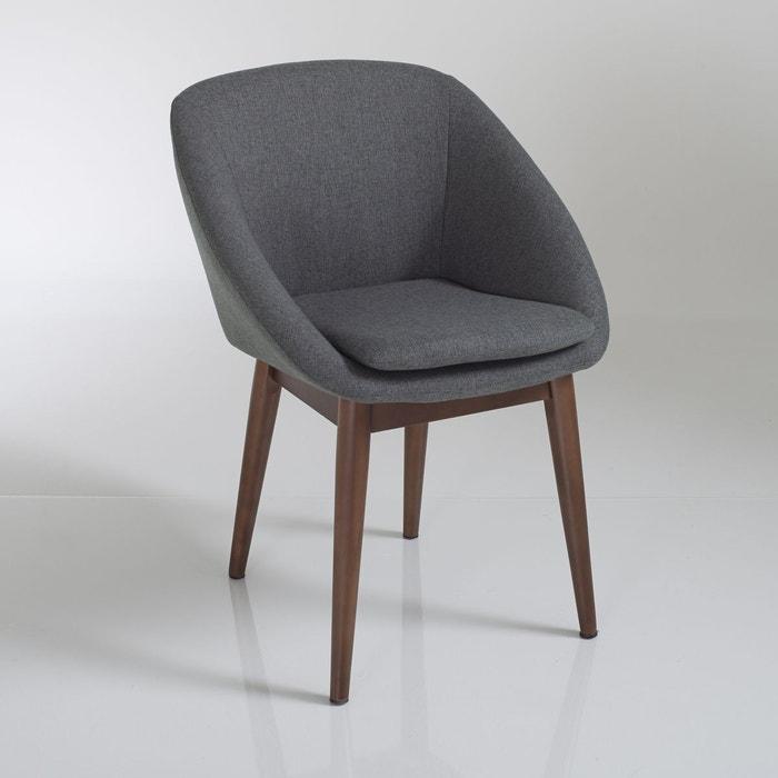 Fauteuil de table watford gris anthracite la redoute for La redoute chaise