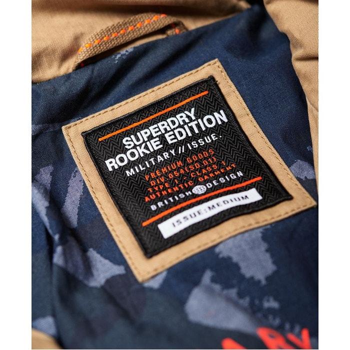 superdry veste saharienne multi-poches rookie
