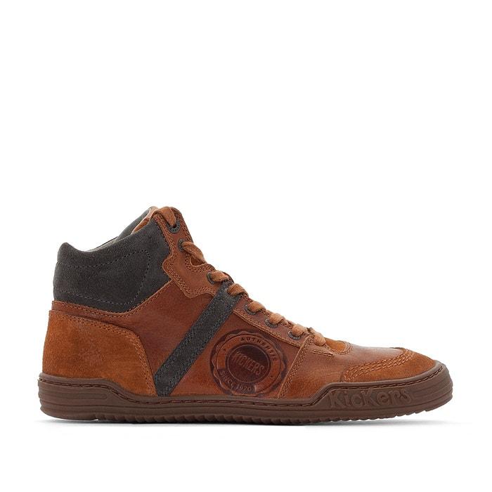 Zapatillas a Jexplorehigh de piel KICKERS de alta ca wt6WAdq