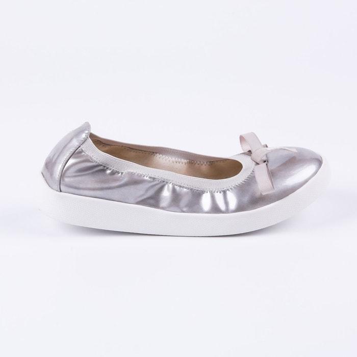 1a1dc0d801d25 Ballerine eva vernis argent argent Lpb Shoes La Redoute GH8HUA1Z -  destrainspourtous.fr