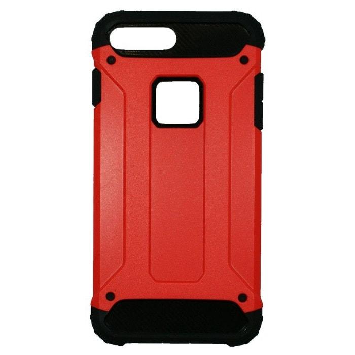 coque iphone 8 plus antichoc rouge