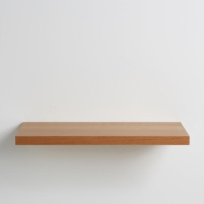 Estante para pared contrachapado de roble, 60 cm, Biface  La Redoute Interieurs image 0