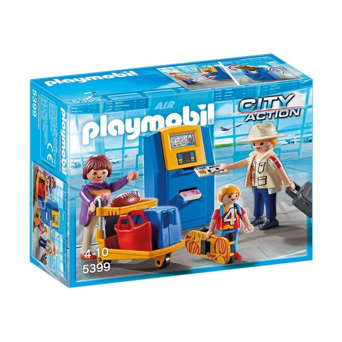 Famille de vacanciers et borne pla5399 couleur unique playmobil la redoute - La redoute playmobil ...