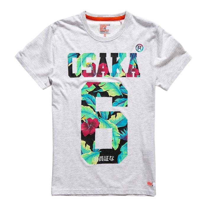 afbeelding T-shirt met korte mouwen Osaka Hibiscus SUPERDRY