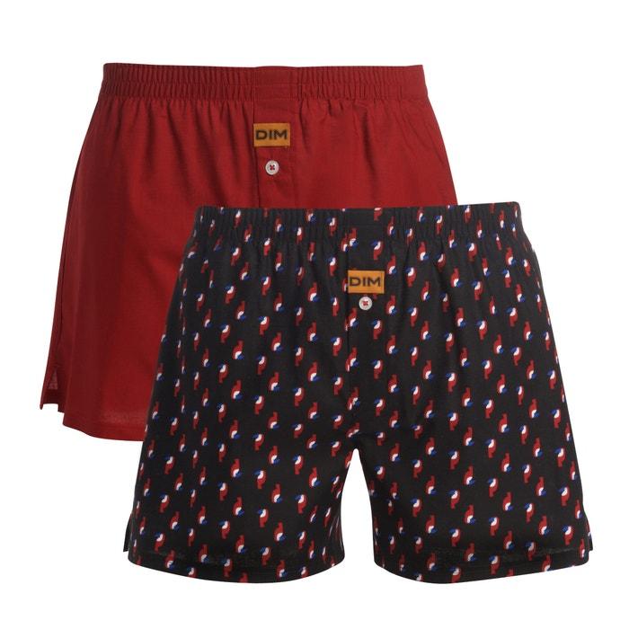 Pack of 2 100% Cotton Short Boxer Shorts  DIM image 0