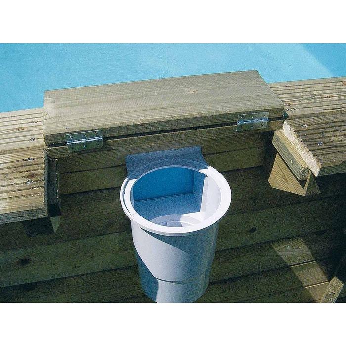skimmer pour piscine bois ubbink couleur unique ubbink. Black Bedroom Furniture Sets. Home Design Ideas