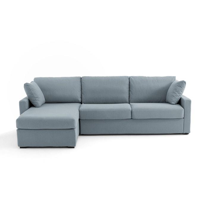 canap d 39 angle lit convertible coton lin timor la redoute. Black Bedroom Furniture Sets. Home Design Ideas