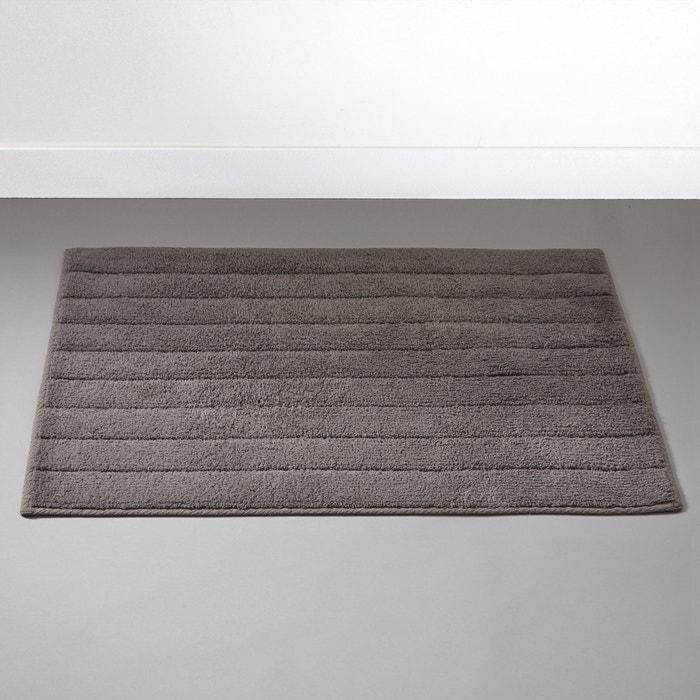 Striped Cotton Towelling Bath Mat, 1300 g/m²