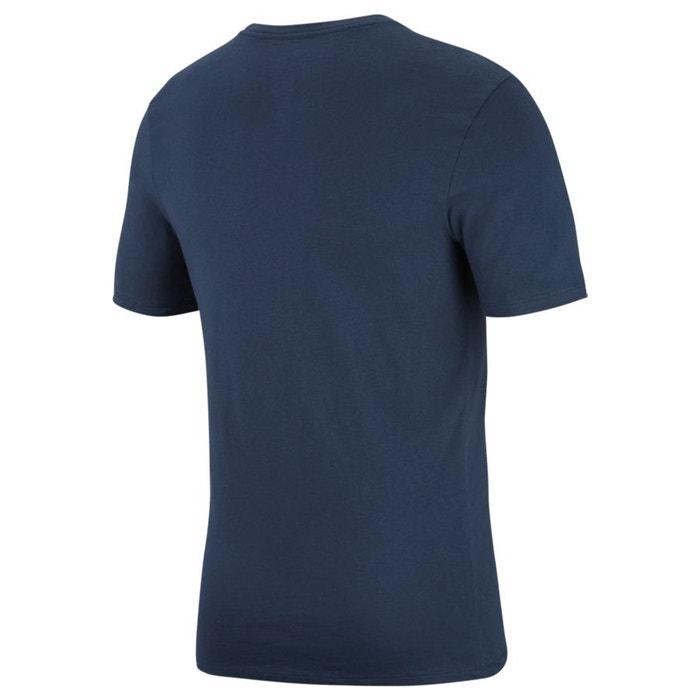 y con NIKE corta cuello estampado Camiseta de redondo manga delante qgI6C