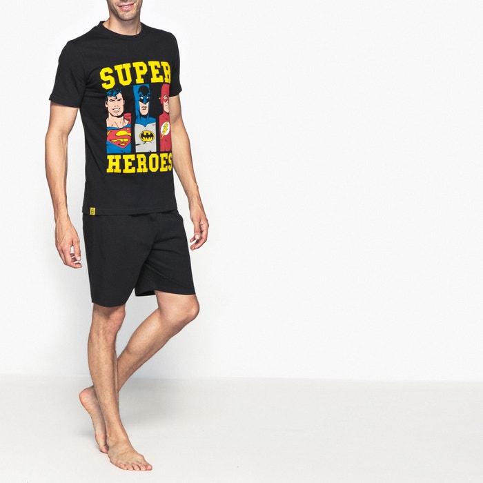 Image Pyjashort manches courtes Super Héros DC COMICS