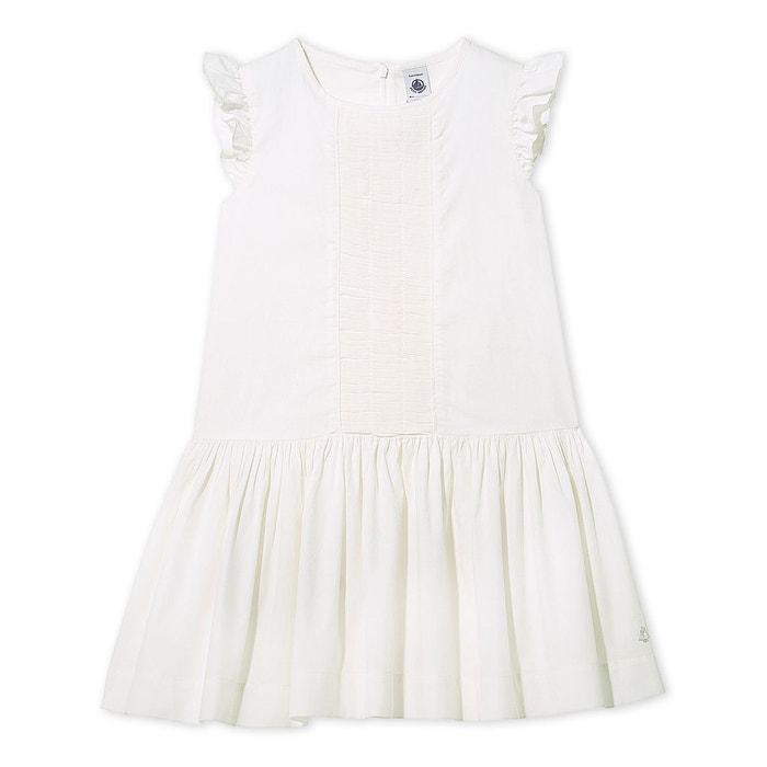 robe de c r monie fille blanc petit bateau la redoute. Black Bedroom Furniture Sets. Home Design Ideas