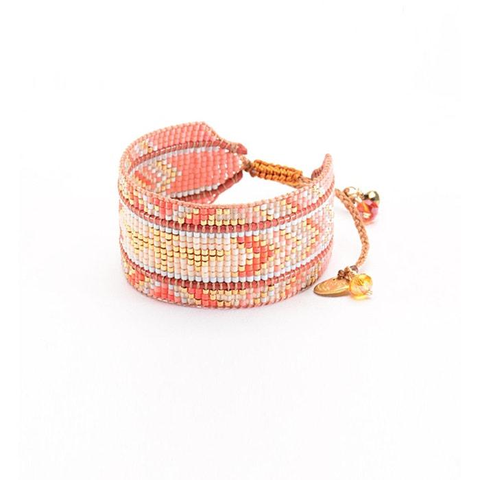 Bracelet mishky 'rays' fait à la main rose Mishky | La Redoute Bas Prix Sortie 2ka6q7