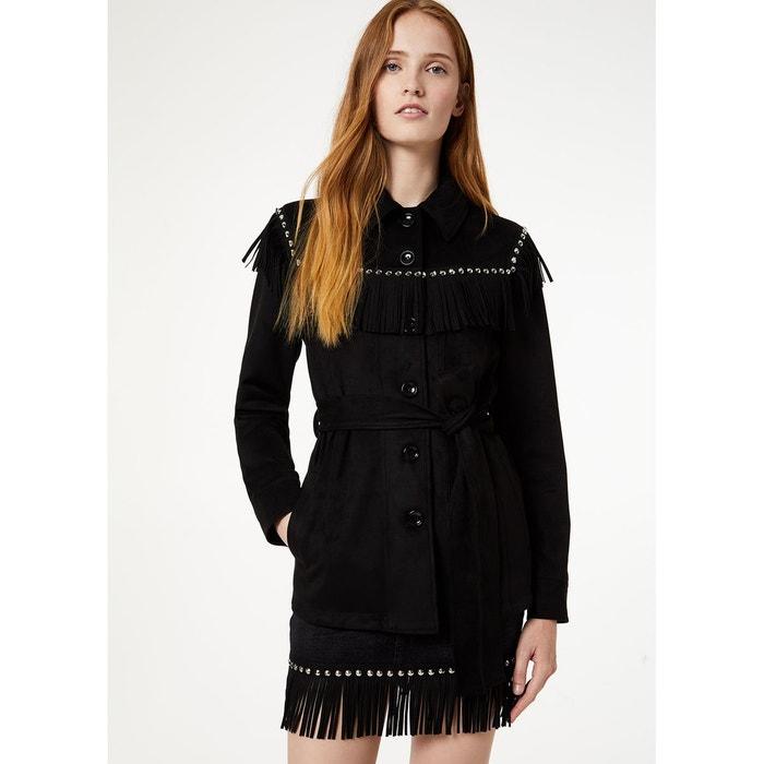 Veste en simili cuir Liu Jo en noir pour femme | Galeries