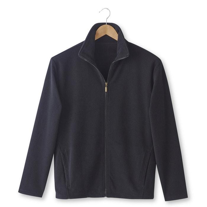 Image Long-Sleeved Fleece Cardigan CASTALUNA FOR MEN
