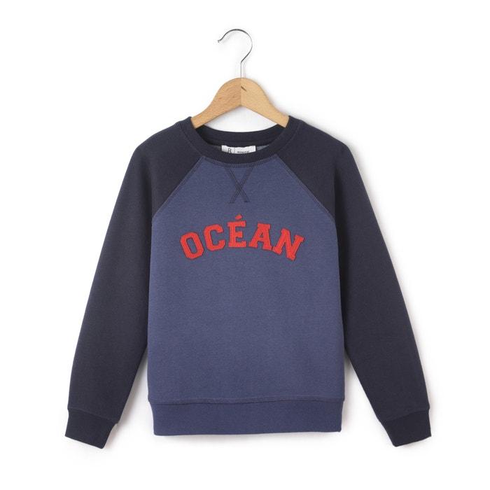 Two-Tone Sweatshirt, 3-12 Years.