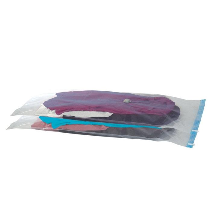 Housse de protection sous vide forme plate lot d nocolor for Aspirateur pour housse sous vide