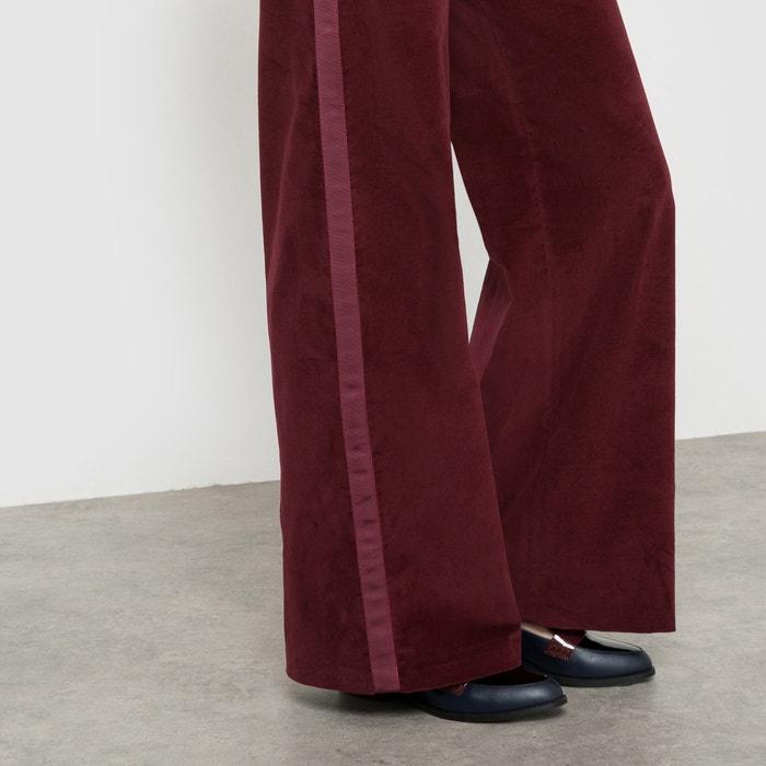 Image Pantalon large en velours La Redoute Collections