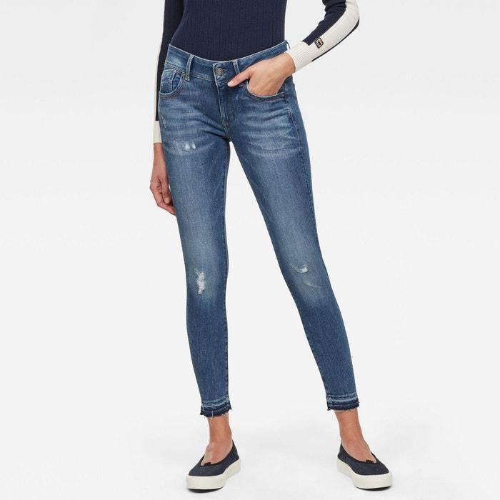 Jean Skinny Taille Moyenne Uni Lynn