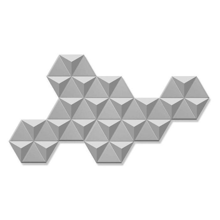 Décoration murale multi miroirs hexagonaux 144x80cm pier import 1