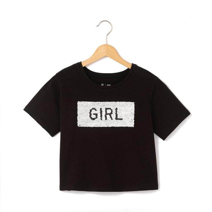 afbeelding Omkeerbaar T-shirt met zecchino's R pop
