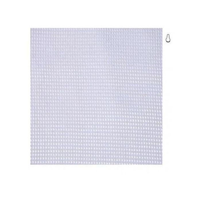 rideau de douche en tissu blanc nid d 39 abeille 180 x 200cm. Black Bedroom Furniture Sets. Home Design Ideas