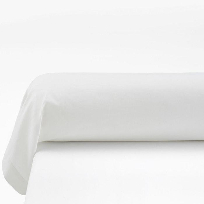 taie de traversin coton cinta blanc la redoute interieurs la redoute. Black Bedroom Furniture Sets. Home Design Ideas