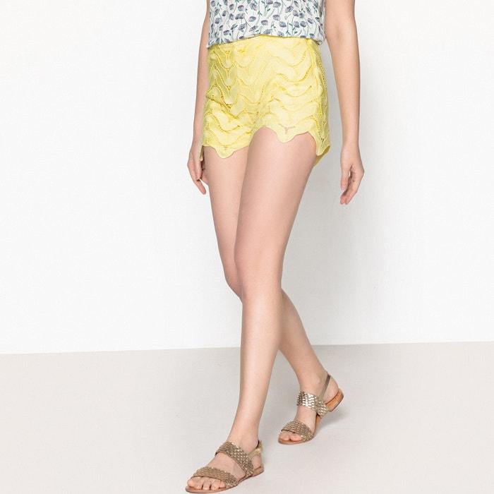 State Lace Shorts  VALERIE KHALFON image 0
