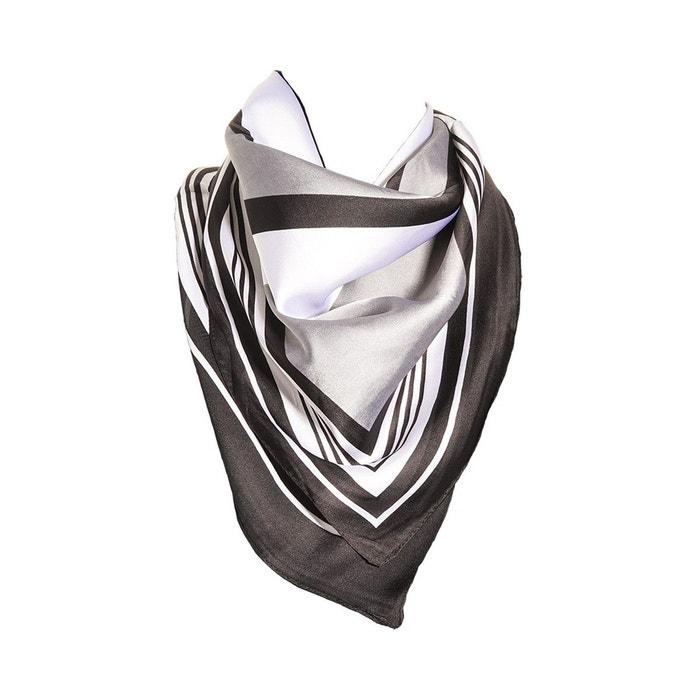 Foulard motif blanc avec sa pochette cadeau multicolore Versace 19.69   La  Redoute 67b558a9f67