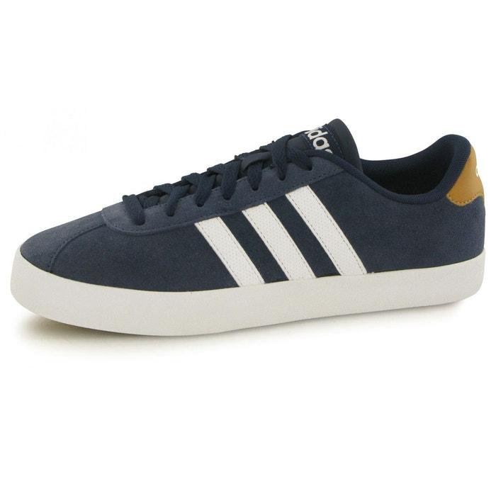 Court vulc bleu Adidas