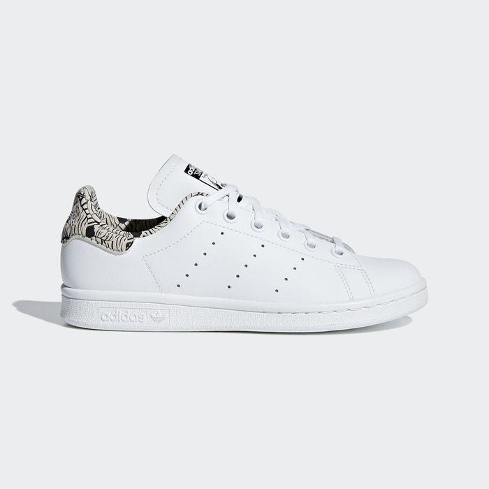 Chaussure stan smith blanc Adidas Originals   La Redoute 6030d5e3b19e