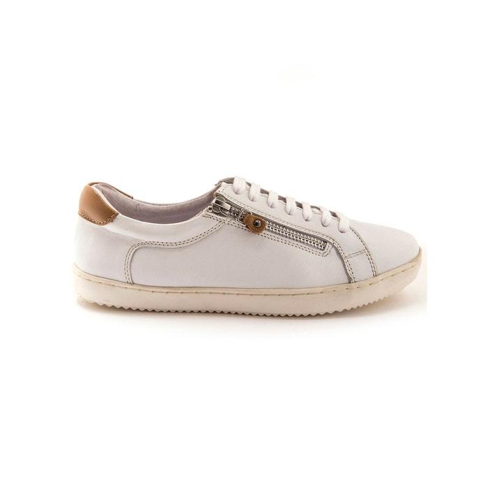 BALSAMIK - Tennis cuir zippées et à lacet largeur confort | La Redoute