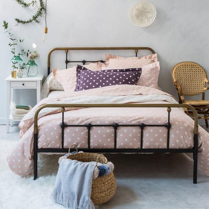 housse de couette imprim e pois clarisse la redoute. Black Bedroom Furniture Sets. Home Design Ideas
