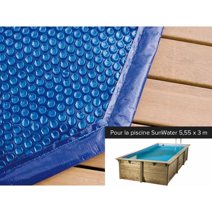 B che bulles pour piscine bois sunwater 5 55 x 3 00 x 1 for Piscine bois la redoute
