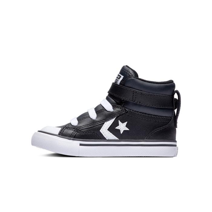 c5deb41fa5724 Baskets hautes pro blaze strap Converse noir