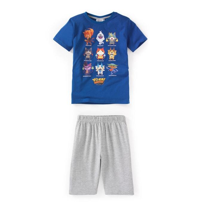 Pijama con short estampado, 3 - 12 años  YO KAI WATCH image 0