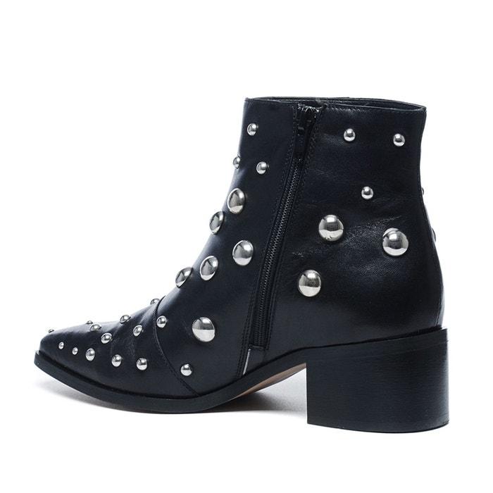 Sacha x fashionchick bottines avec clous Sacha