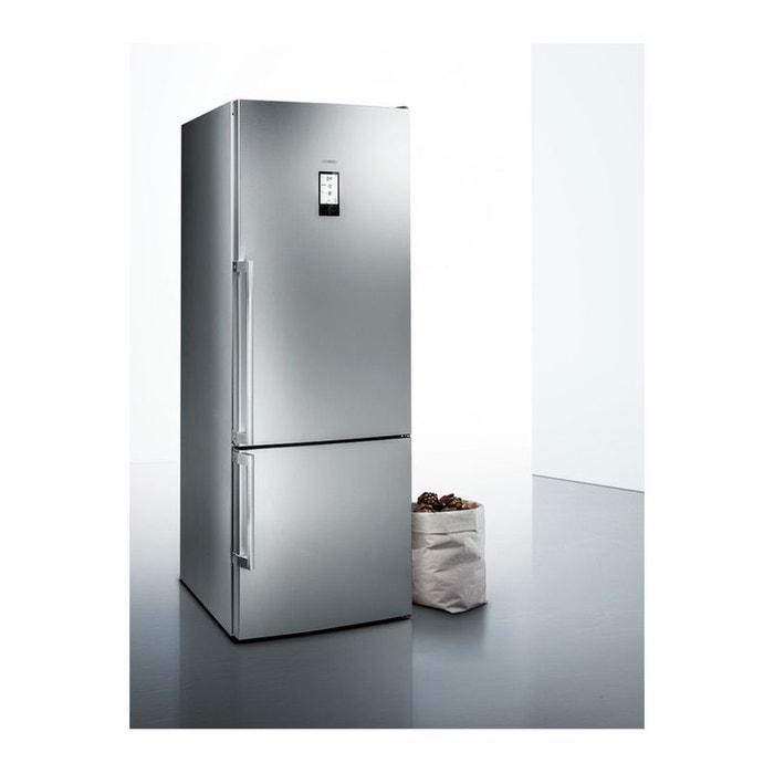 refrigerateur congelateur en bas kg56fpi40 inox siemens la redoute. Black Bedroom Furniture Sets. Home Design Ideas