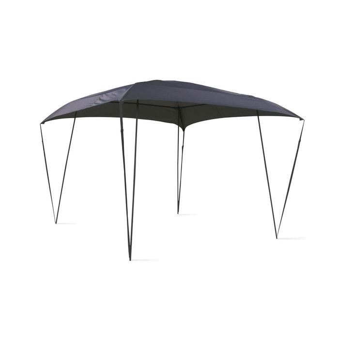 Tonnelle de jardin design 3x3m gris Oviala | La Redoute