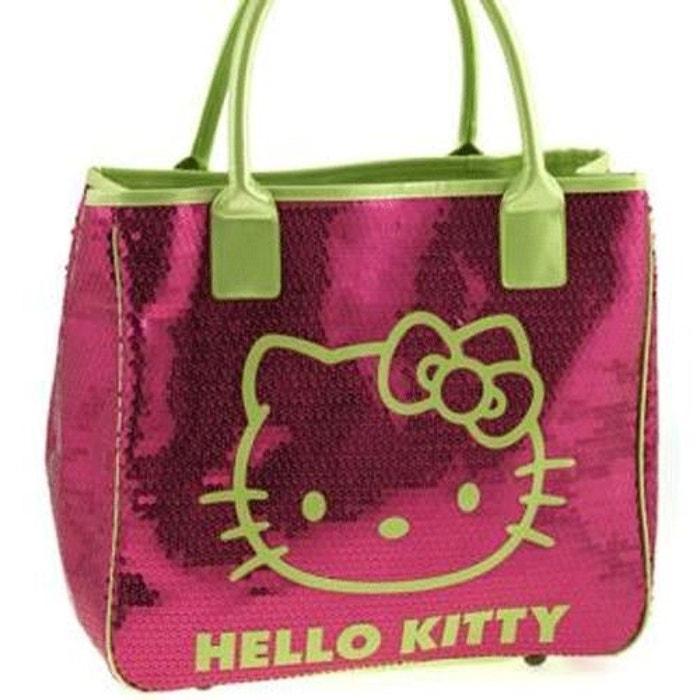 Grand sac à main sequins rose hello kitty camomilla couleur unique Camomilla | La Redoute Ordre Pré Sortie Acheter Meilleur Prix Bon Marché Magasin De Sortie De Dégagement 1NVpwUc