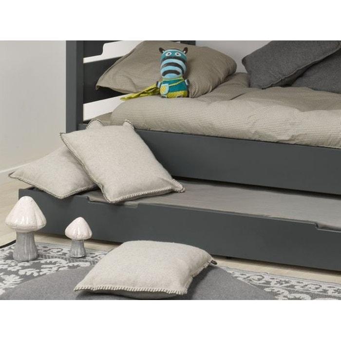 tiroir de lit gris 90x190 pour lit 29cm sous pan anthracite alfred et compagnie la redoute. Black Bedroom Furniture Sets. Home Design Ideas