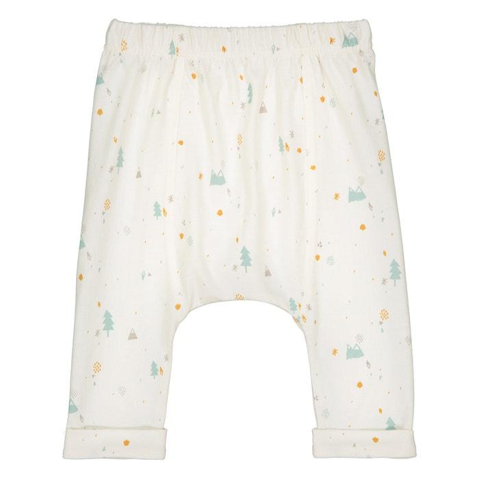 Pantaloni alla turca cotone bio 0 mesi - 2 anni  La Redoute Collections image 0